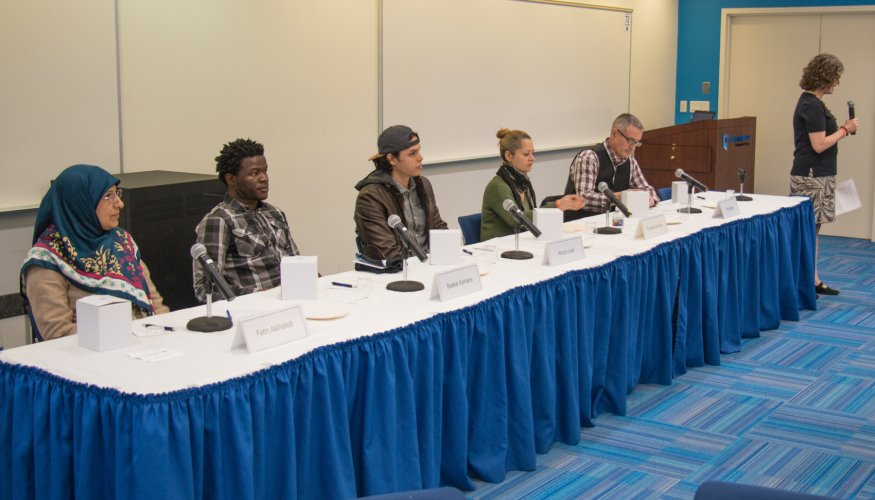 Stand Against Racism panel