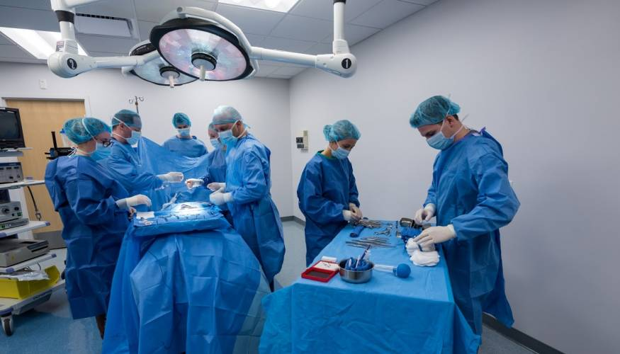 Quinsigamond Community College's Surgical Technology program