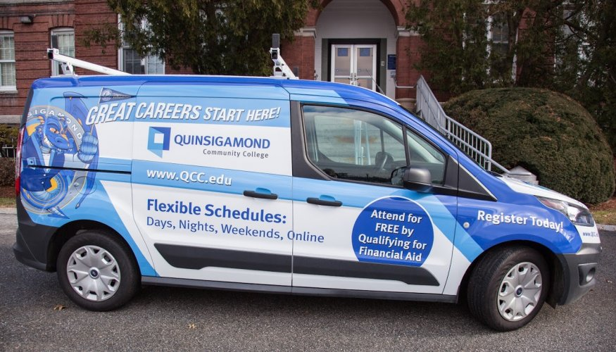 QCC's Wyvernmobile is ready for action!