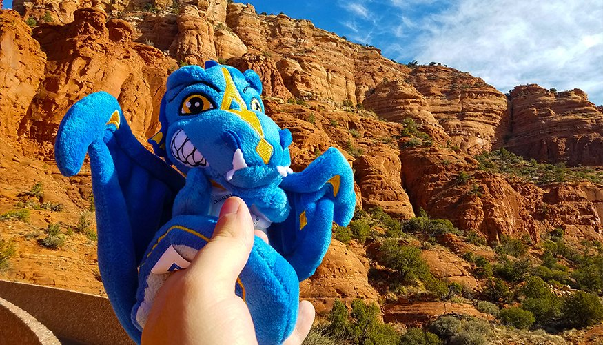 The Wyvern enjoyed some amazing views of the Grand Canyon.