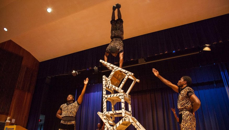 ZuZu Acrobats also show how high they can go!