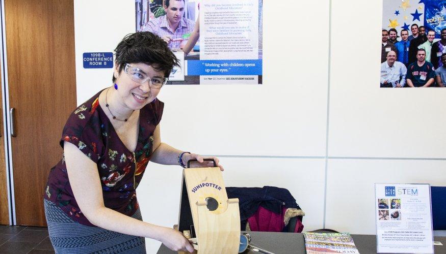 Professor of Astronomy & Physics Andria Schwortz