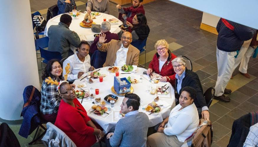 There was a lot of merriment at the annual QCC Holiday Luncheon.