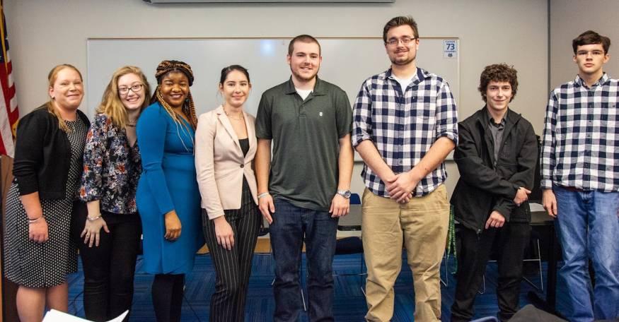 QCC Honors Colloquium students