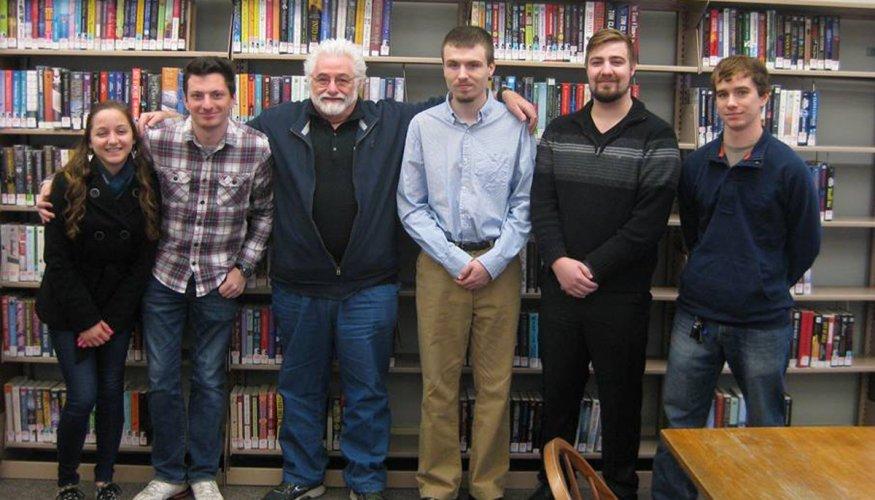 students at Southbridge Library
