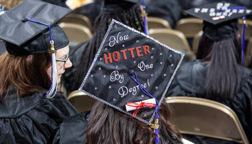 Hotter by one degree