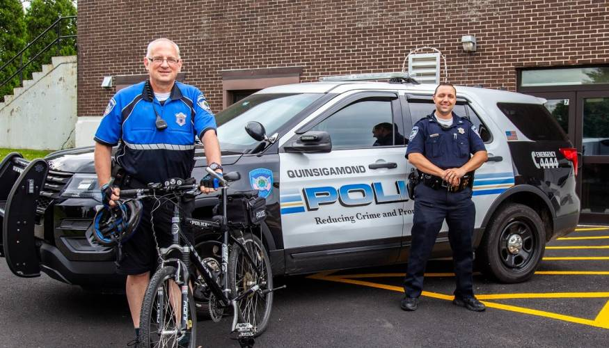 QCC's Bike Patrol Unit.