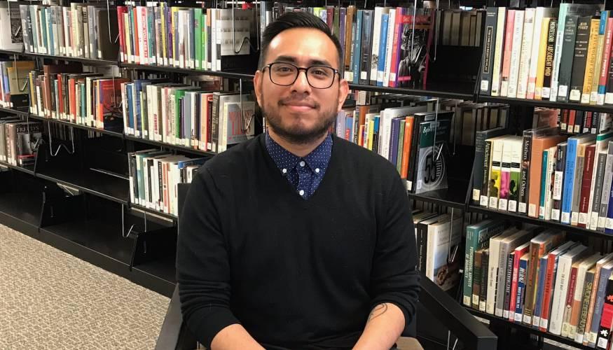 PTK student Abel Delgado