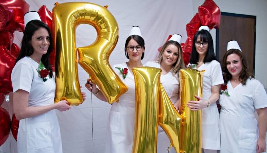 Two Letters say it all for these nursing grads.