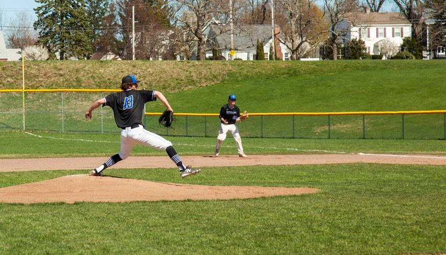 Baseball players at QCC