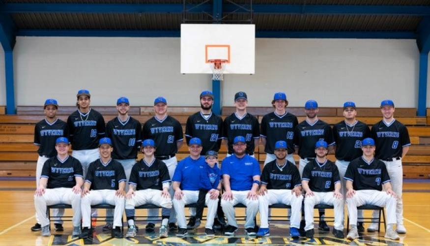 The 2019 QCC Wyverns Baseball team.