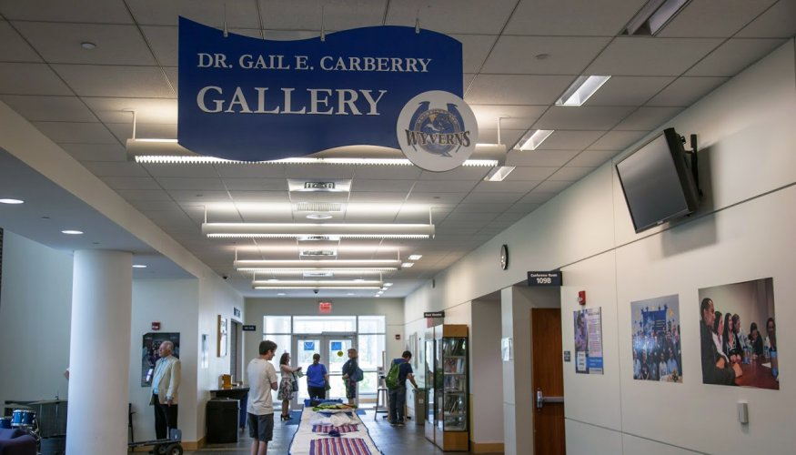 Carberry Gallery signage