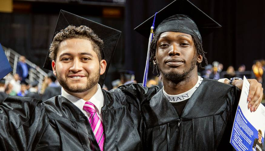 QCC graduates are ready to take on the future.