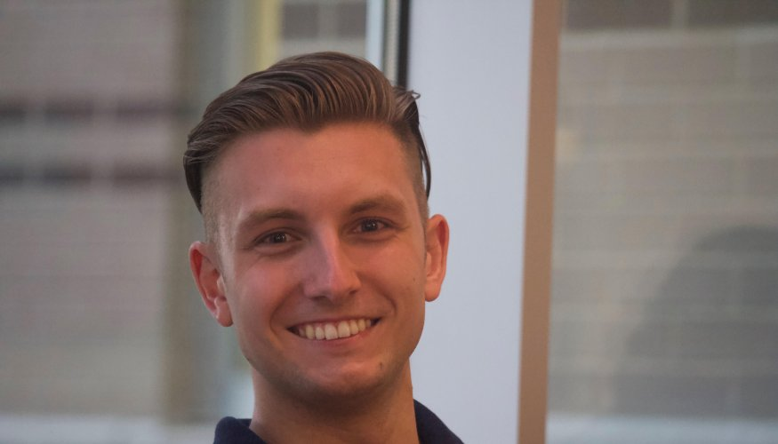 PTK student and a 2018 Coca-Cola Leaders of Promise Scholar, Connor Nowlan