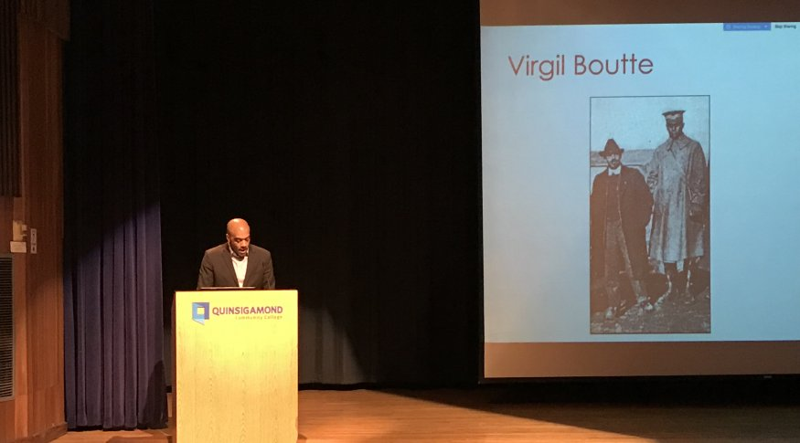 Dr. Chad Williams Lectures on WWI and Its Effects on African Americans