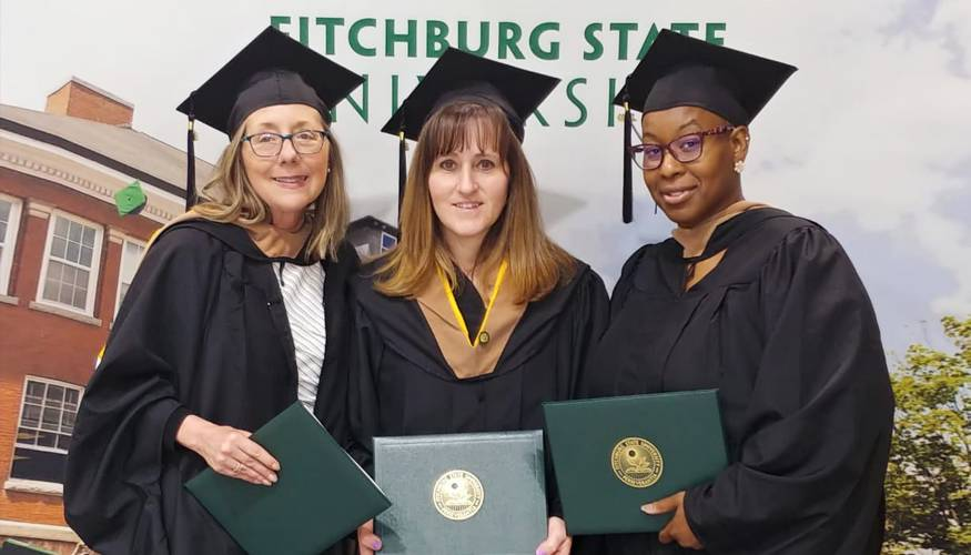 From left: Deborah Fratturelli, Nichole Wheeler, and Sabine Dupoux