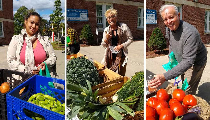 Thanks to Phi Theta Kappa, the Farmers Market was a huge success.