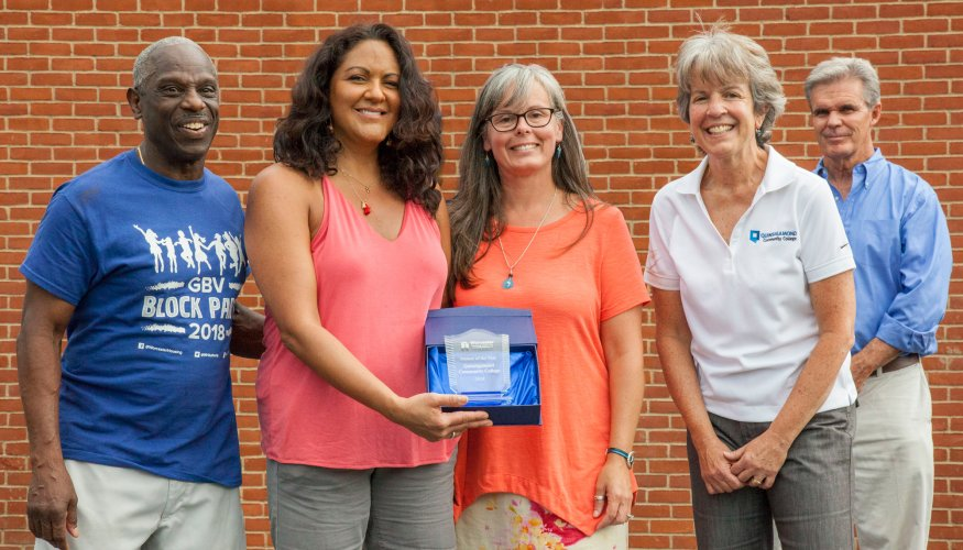 QCC is awarded the Community Partner of the Year