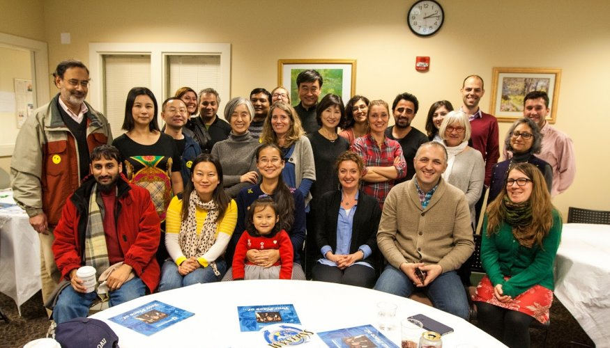 QCC was host to Fulbright Scholars from other countries.
