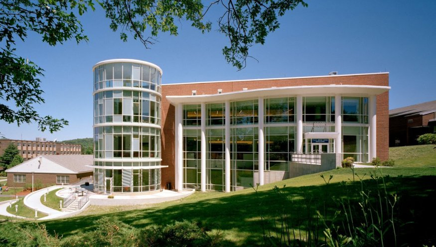 The Harrington Learning Center will soon include a new Welcome Center.