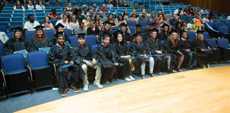 The 2019 HiSet graduates