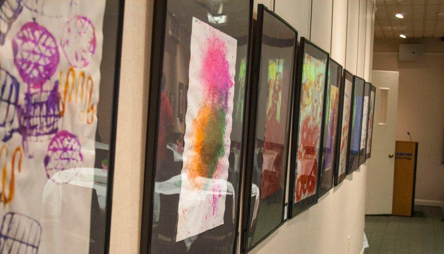 Children's School Art Show entry