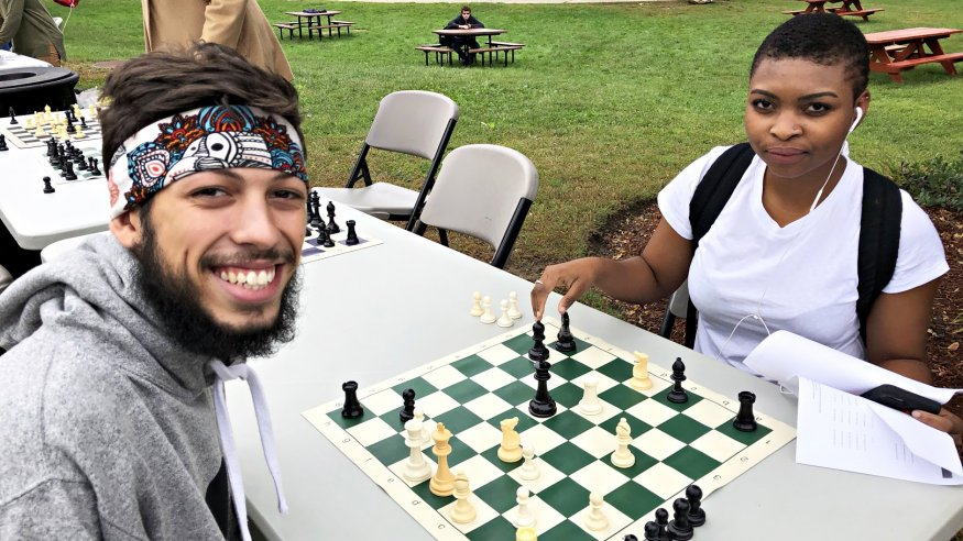The Chess Club is a popular club on campus.