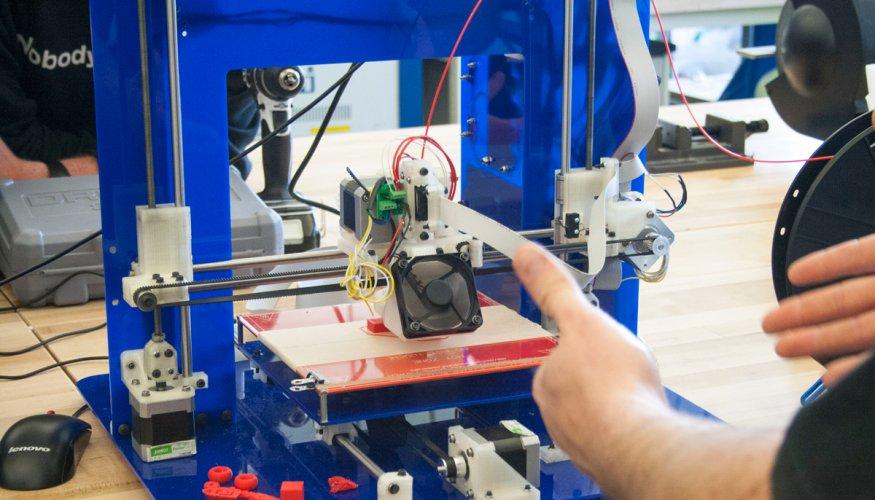 MNT 216 - Manufacturing Processes II 3d Printer