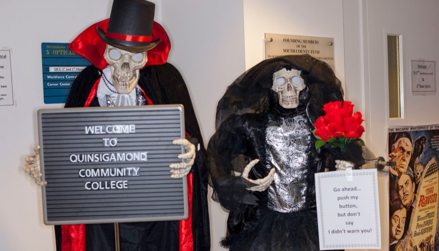 QCC at Southbridge is always part of the Halloween fun.