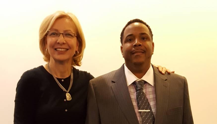 Karen Duffy & Vaughn Lee
