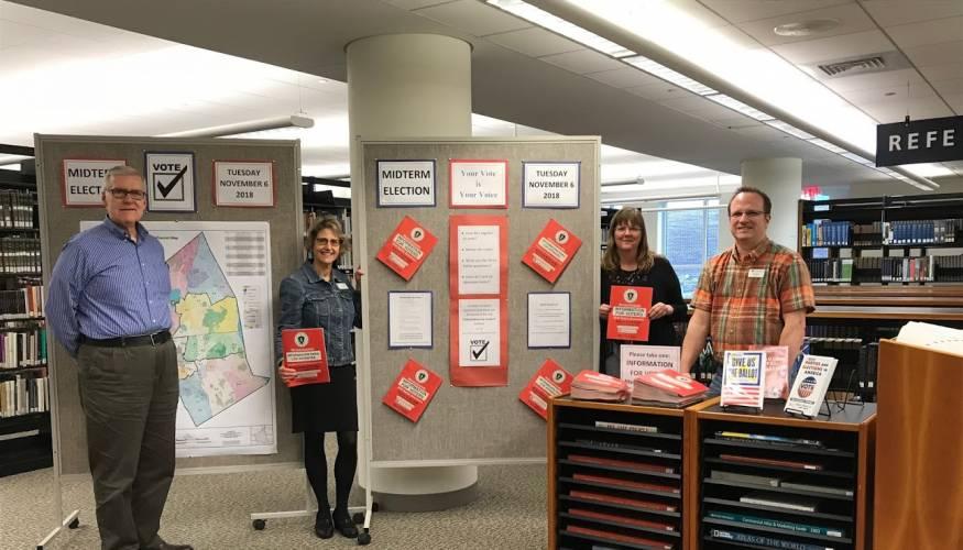 QCC librarians