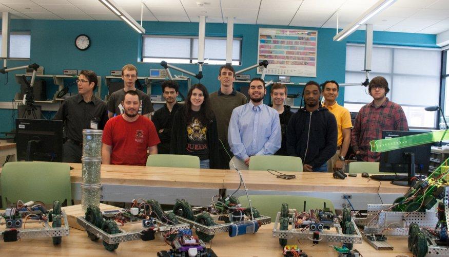 Mechatronics Option Students