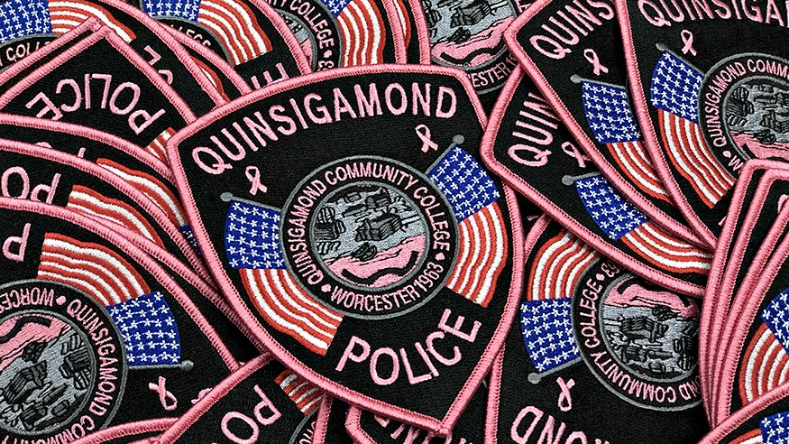 QCC Police Pink Patch Project