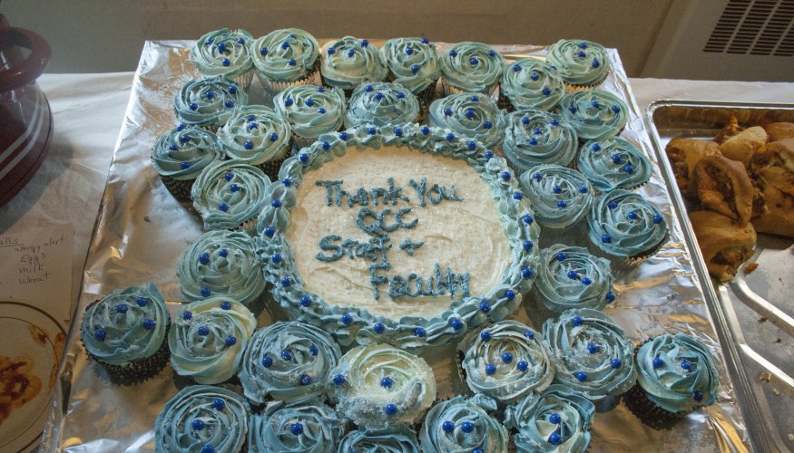 Faculty and Staff Appreciation Social cake