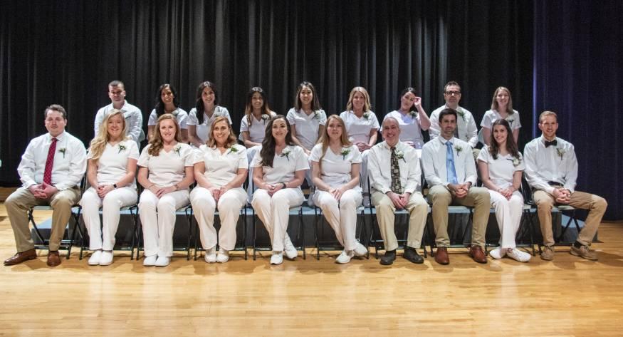 The 2019 radiologic technology graduates.