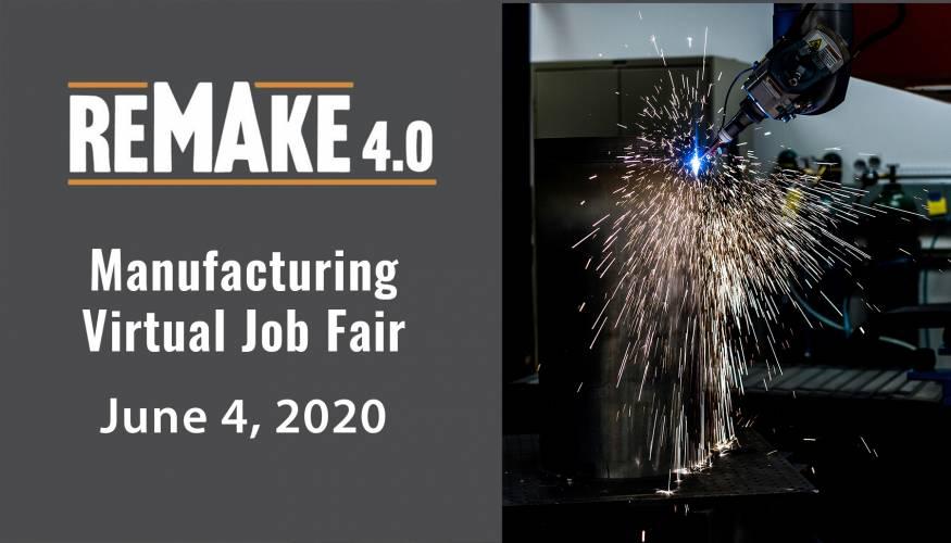Virtual Manufacturing Job Fair scheduled for June 4