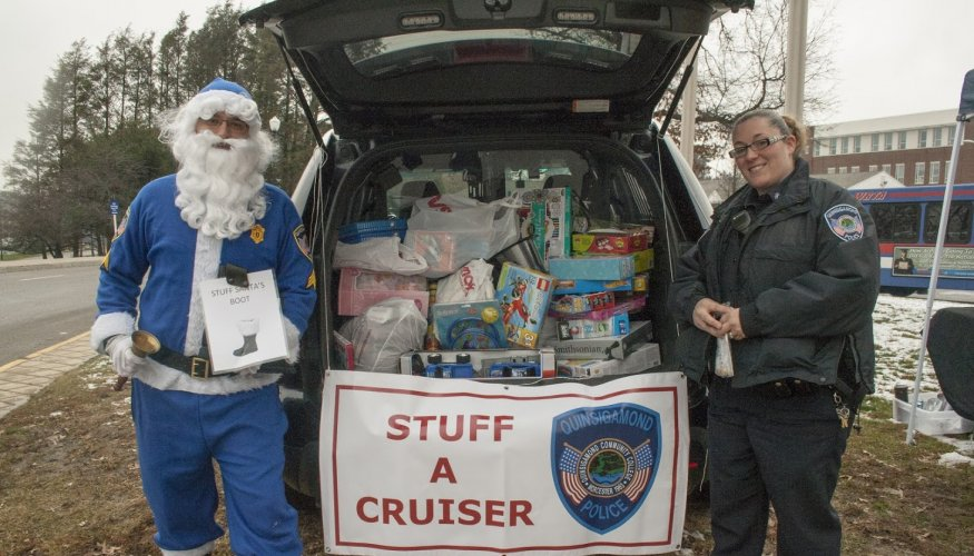 Last year's Stuff-A-Cruiser was a huge success. Help make this year's even more successful.