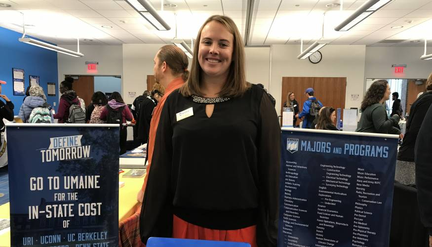 The University of Maine was represented by Assistant Director Kylen Donovan.