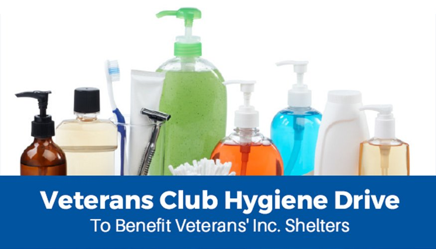 Veterans Club Hygiene Drive