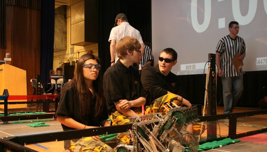 Each year VEX robots perform different challenges during competitions.