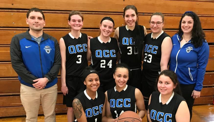QCC's 2019 Women's Basketball team