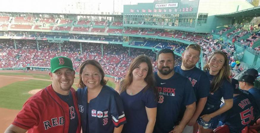 Veterans staff at Fenway