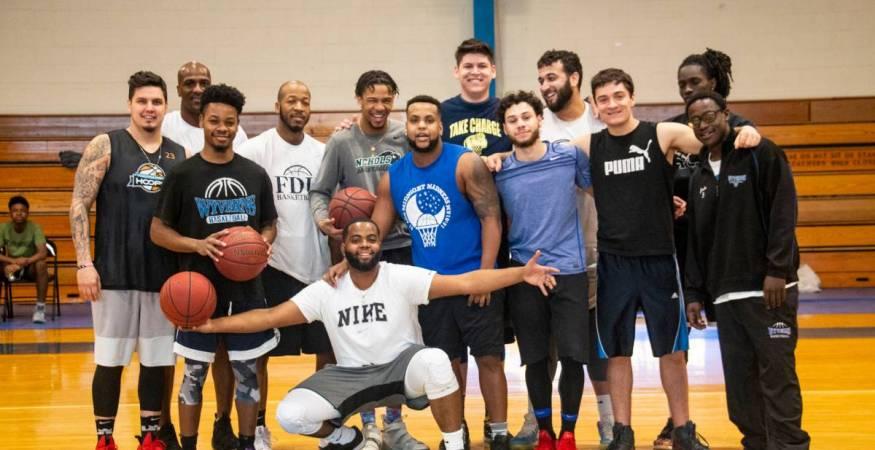 QCC Alumni Basketball Team