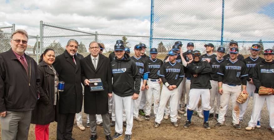 Baseball Field Plaque Presentation
