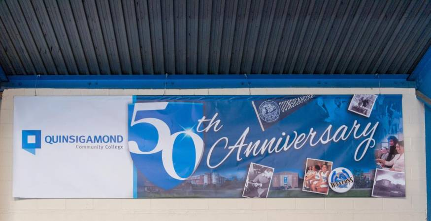 50th anniversary wall banner
