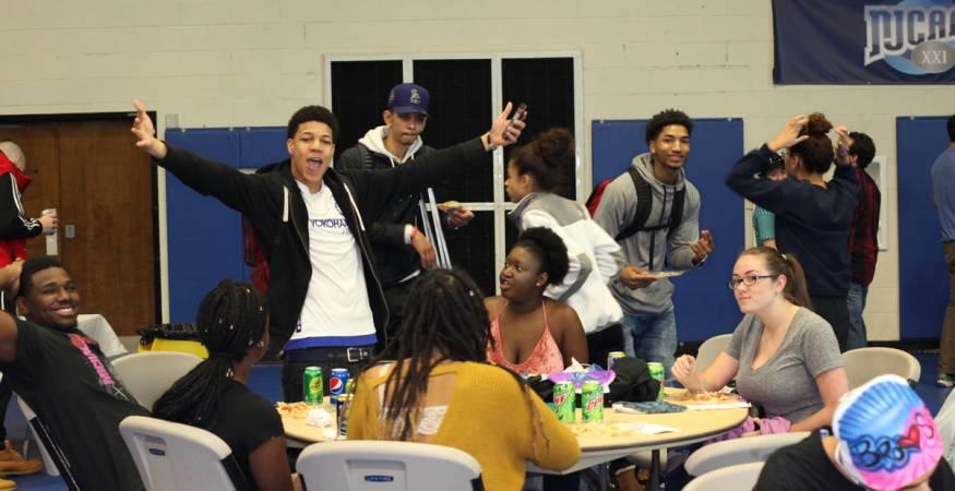 QCC Students at Spirit Week