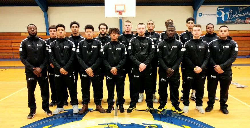 QCC Basketball Team