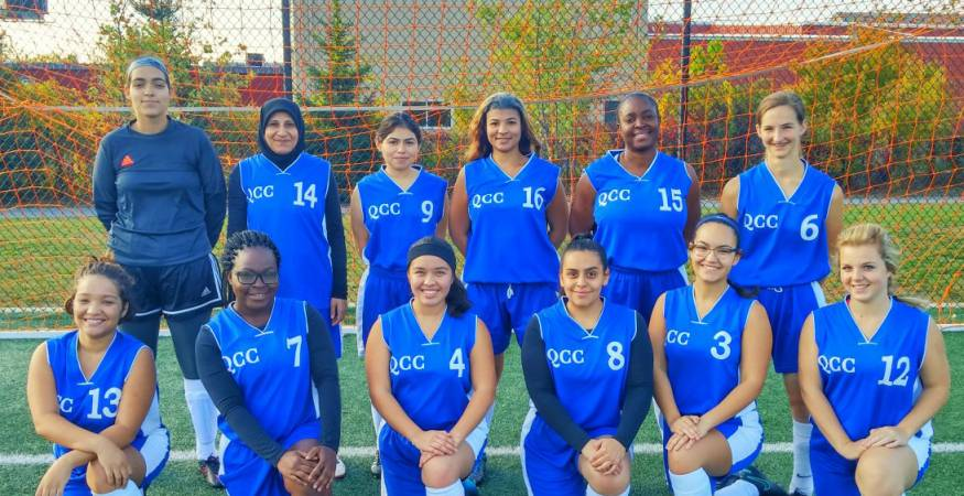 QCC Wyverns - Soccer Team
