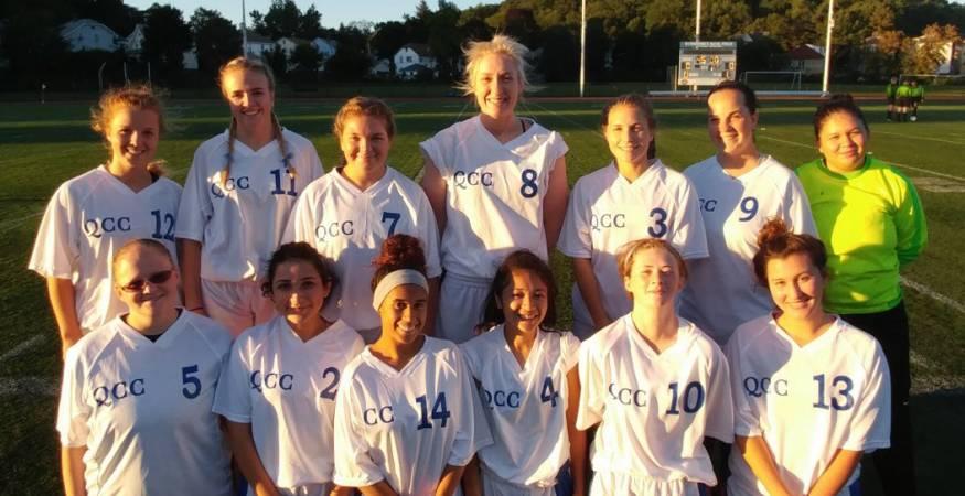 QCC soccer team