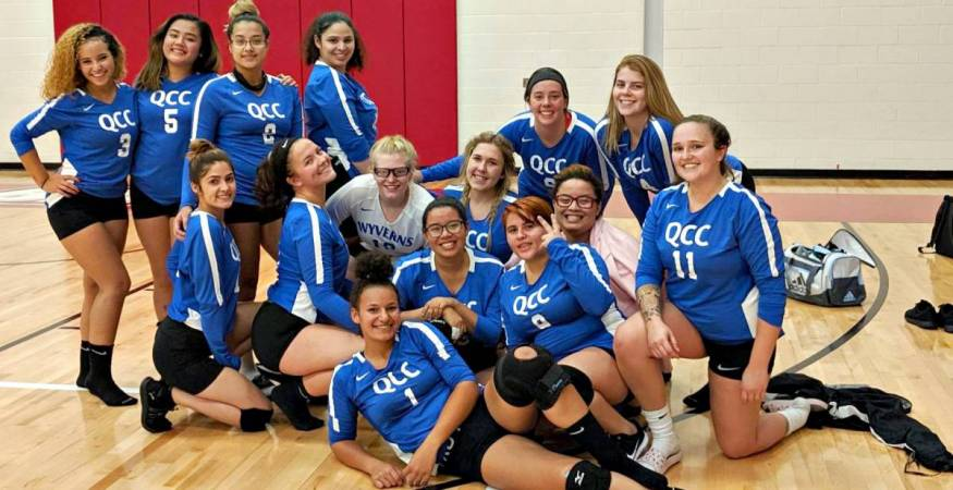 QCC's Volleyball Team